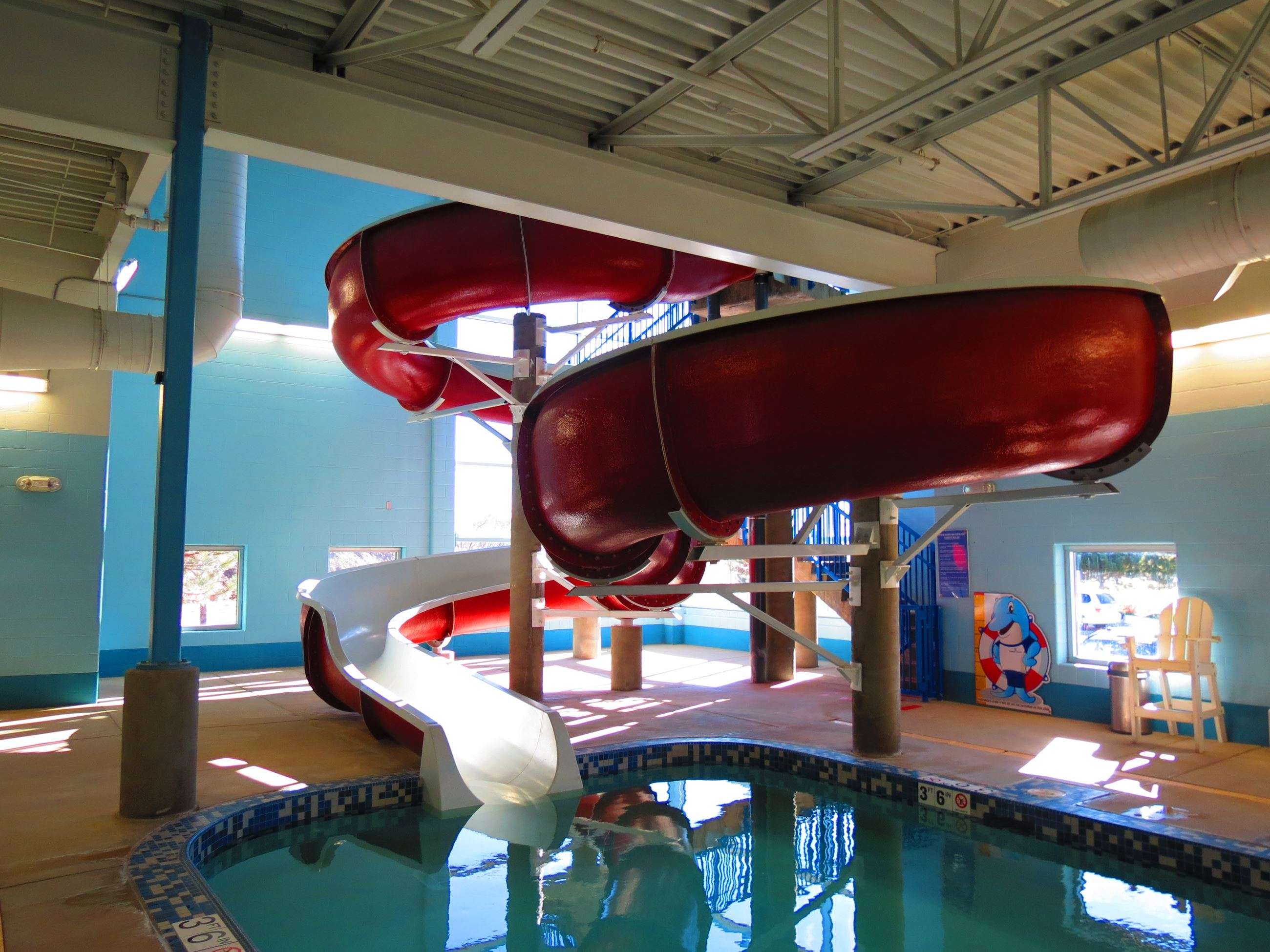 Carbon Valley Rec Center pool